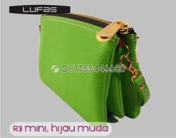 dompet lufas mini R3 hijau muda 1