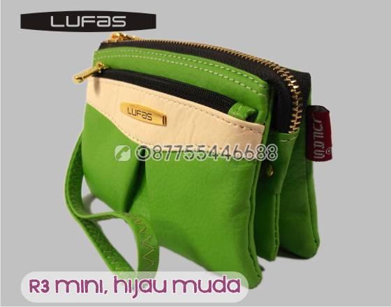 dompet lufas mini R3 hijau muda 4