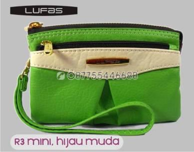 dompet lufas mini R3 hijau muda 5