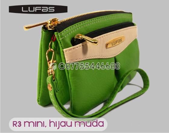 dompet lufas mini R3 hijau muda 6
