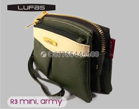 dompet lufas mini R3 hijauarmy 4