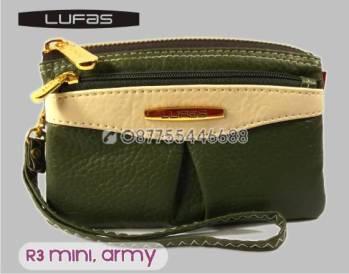 dompet lufas mini R3 hijauarmy 5