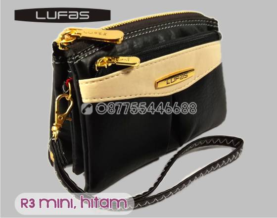 dompet lufas mini R3 hitam 4