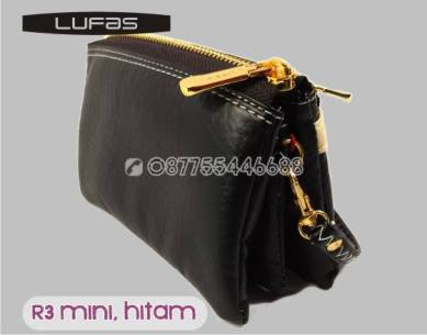 dompet lufas mini R3 hitam 5