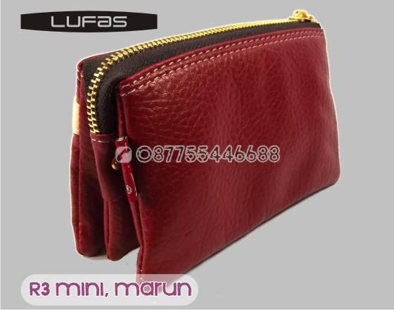 dompet lufas mini R3 marun 3