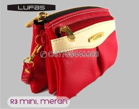 dompet lufas mini R3 merah 1