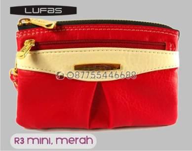 dompet lufas mini R3 merah 2