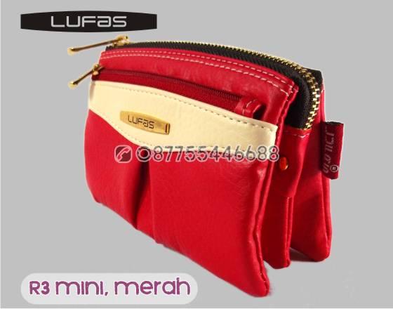 dompet lufas mini R3 merah 3