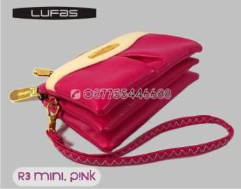 dompet lufas mini R3 PINK 1