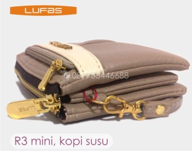 dompet lufas R3 mini kopi susu 3