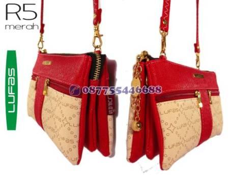 dompet lufas R5 merah 1