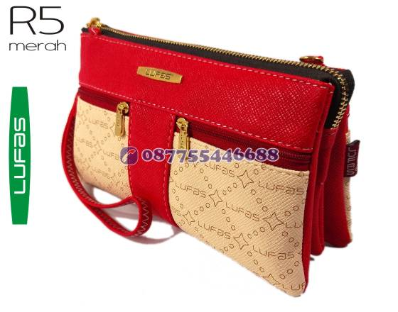 dompet lufas R5 merah 7