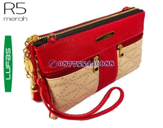 dompet lufas R5 merah 9