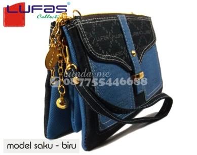 dompet lufas saku biru 1