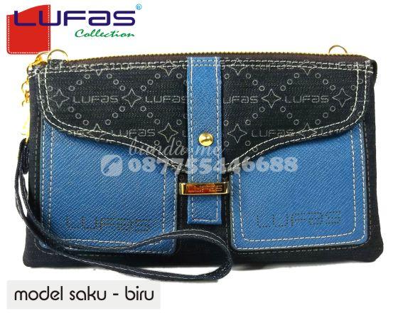 dompet lufas saku biru 13