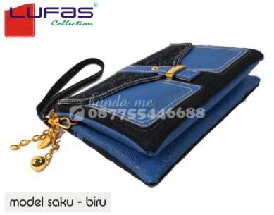 dompet lufas saku biru 8