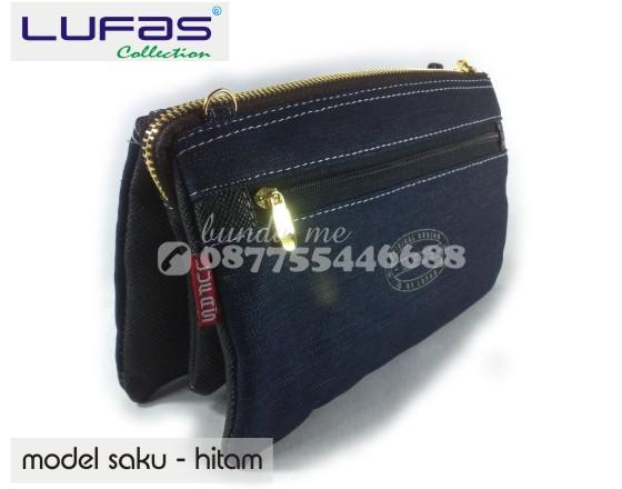 dompet lufas saku hitam 3