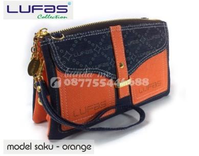 dompet lufas saku orange 10