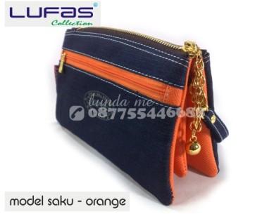 dompet lufas saku orange 5