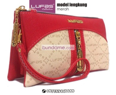 dompet lufas lengkung merah 2