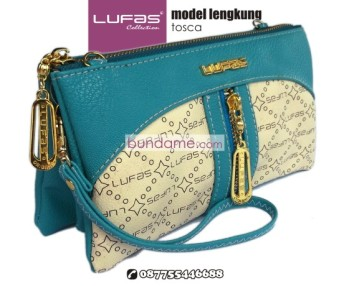 dompet lufas lengkung tosca 1