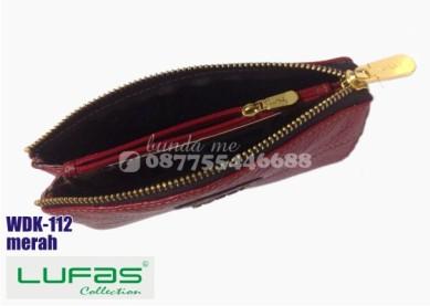dompet kulit lufas wdk112 merah 1