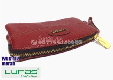 dompet kulit lufas wdk112 merah 2