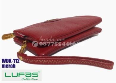 dompet kulit lufas wdk112 merah 3