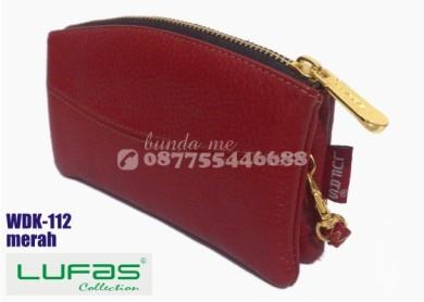 dompet kulit lufas wdk112 merah 5