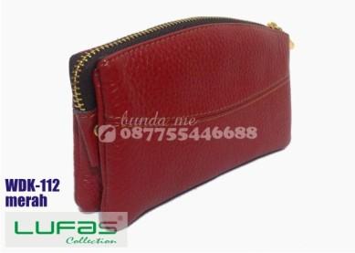 dompet kulit lufas wdk112 merah 7