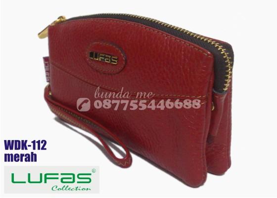 dompet kulit lufas wdk112 merah 8