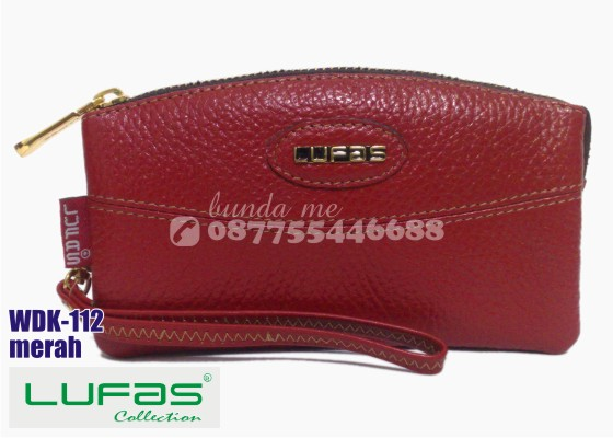 dompet kulit lufas wdk112 merah 9