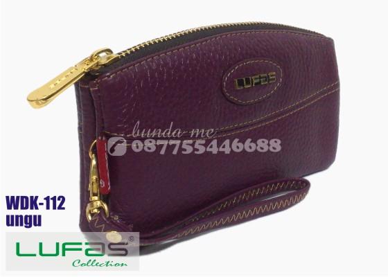 dompet kulit lufas wdk112 ungu