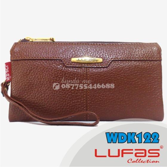 dompet lufas kulit WDK122 coklat 2