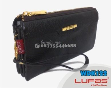 dompet lufas kulit WDK122 hitam 1