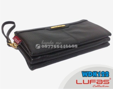 dompet lufas kulit WDK122 hitam 7