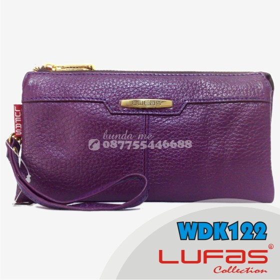 dompet lufas kulit WDK122 ungu 2