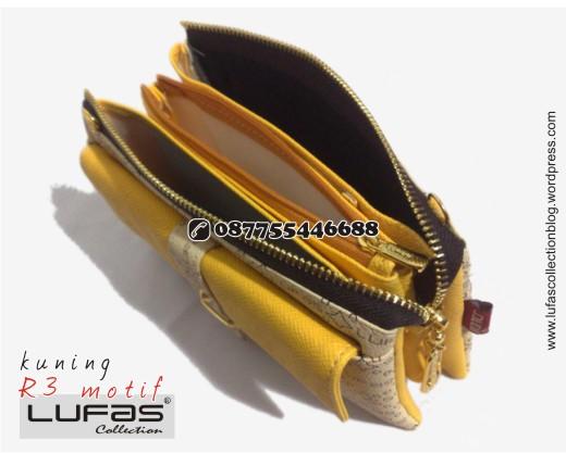 dompet lufas motif R3 kuning 13