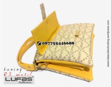 dompet lufas motif R3 kuning 15