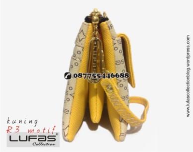 dompet lufas motif R3 kuning 16