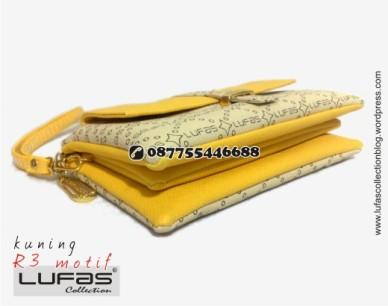dompet lufas motif R3 kuning 17