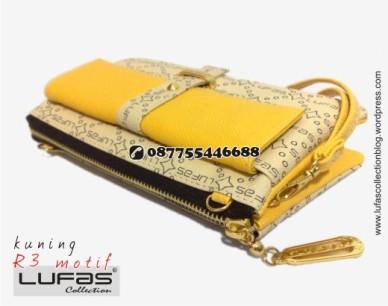 dompet lufas motif R3 kuning 18