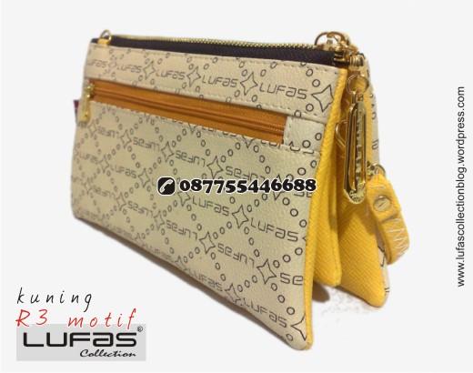 dompet lufas motif R3 kuning 19