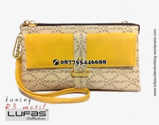 dompet lufas motif R3 kuning 23