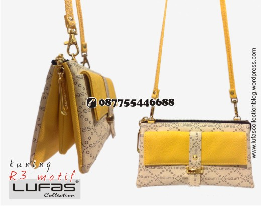 dompet lufas motif R3 kuning 3