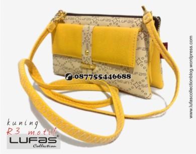 dompet lufas motif R3 kuning 8