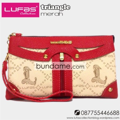 dompet lufas triangle merah