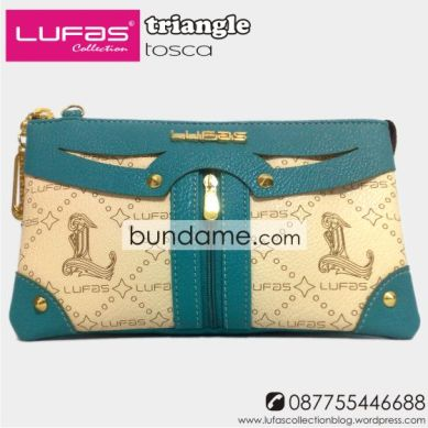 dompet lufas triangle tosca