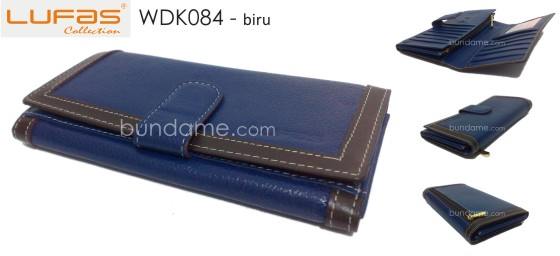 dompet lufas WDK084 biru 560