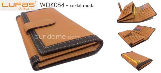 dompet lufas WDK084 coklat muda 560